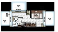 2018 Rockwood Roo 183 Floor Plan
