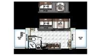 2018 Rockwood Roo 21SS Floor Plan