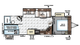 2018 Rockwood Ultra Lite 2706WS Floor Plan