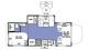 2017 Sunseeker MBS 2400S Floor Plan