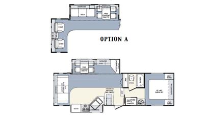 2005 Wildcat 29RLDS Floor Plan