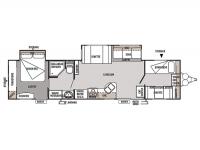 2012 Wildwood 36BHBS Floor Plan