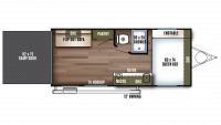 2019 Wildwood FSX 180RT Floor Plan