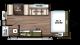 2018 Wildwood FSX 190SS Floor Plan