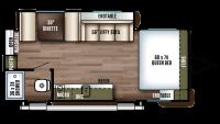 2019 Wildwood FSX 190SS Floor Plan
