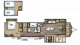 2018 Wildwood Lodge 4092BFL Floor Plan
