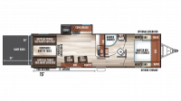 2019 Wolf Pack 23PACK15 Floor Plan