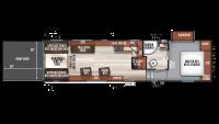 2018 Wolf Pack 275PACK18 Floor Plan