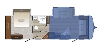 Front Living Floor Plan