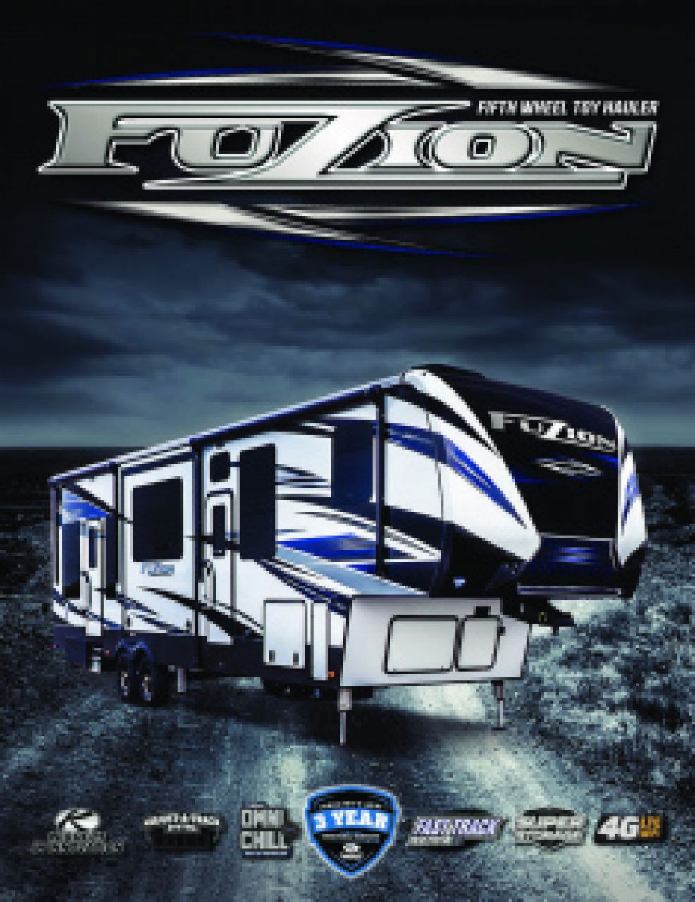 2019 Keystone Fuzion RV Brochure Cover