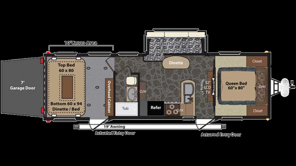 Fuzion 300 Floor Plan - 2014