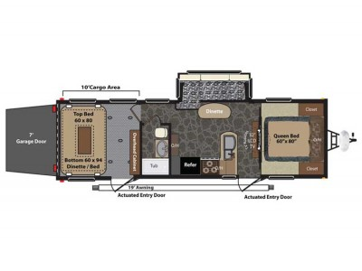Fuzion 300 Floor Plan - 2014