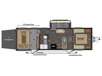 2014 Fuzion 300 Floor Plan