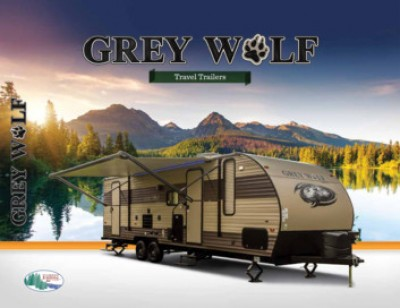 2017 Forest River Grey Wolf RV Brand Brochure Cover