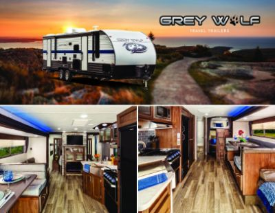 2019 Forest River Grey Wolf RV Brochure Cover