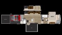 2019 Cyclone 4200 Floor Plan