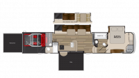 2018 Cyclone 4200 Floor Plan
