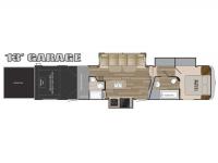 2019 Road Warrior RW413 Floor Plan