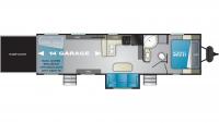 2019 Torque XLT T314 Floor Plan