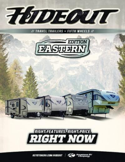2017 Keystone Hideout RV Brand Brochure Cover