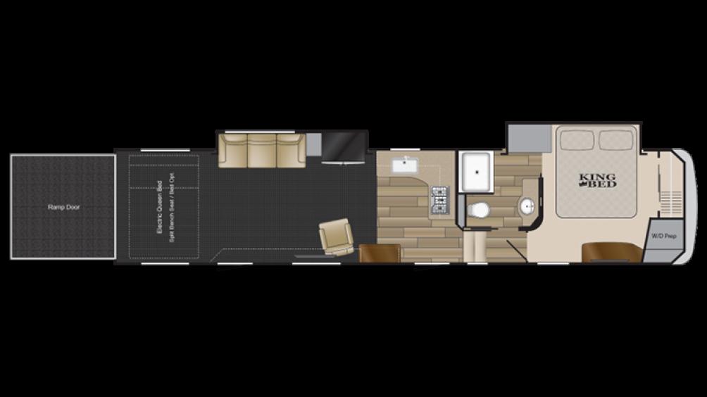 2019 Road Warrior RW411 Floor Plan Img