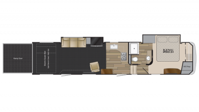 2019 Road Warrior RW411 Floor Plan Img