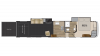 2019 Road Warrior RW411 Floor Plan