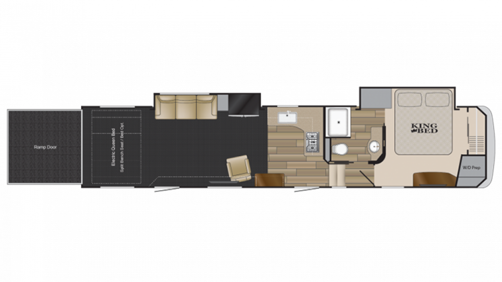 2018 Road Warrior RW411 Floor Plan Img