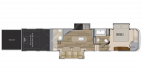 2019 Road Warrior RW426 Floor Plan
