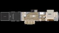 2019 Road Warrior RW426 Floor Plan