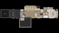 2019 Road Warrior RW427 Floor Plan
