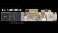 2019 Road Warrior RW387 Floor Plan