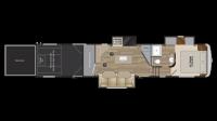 2019 Road Warrior RW396 Floor Plan