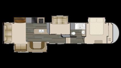 2018 Sundance 3710MB Floor Plan