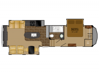 2014 Bighorn 3010RE Floor Plan