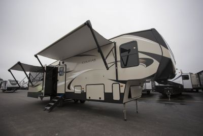 2019 Cougar 361RLW Exterior Photo
