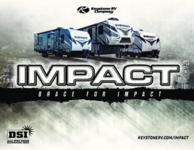 2017 Keystone Impact RV Brand Brochure Cover