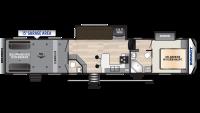 2020 Impact 415 Floor Plan