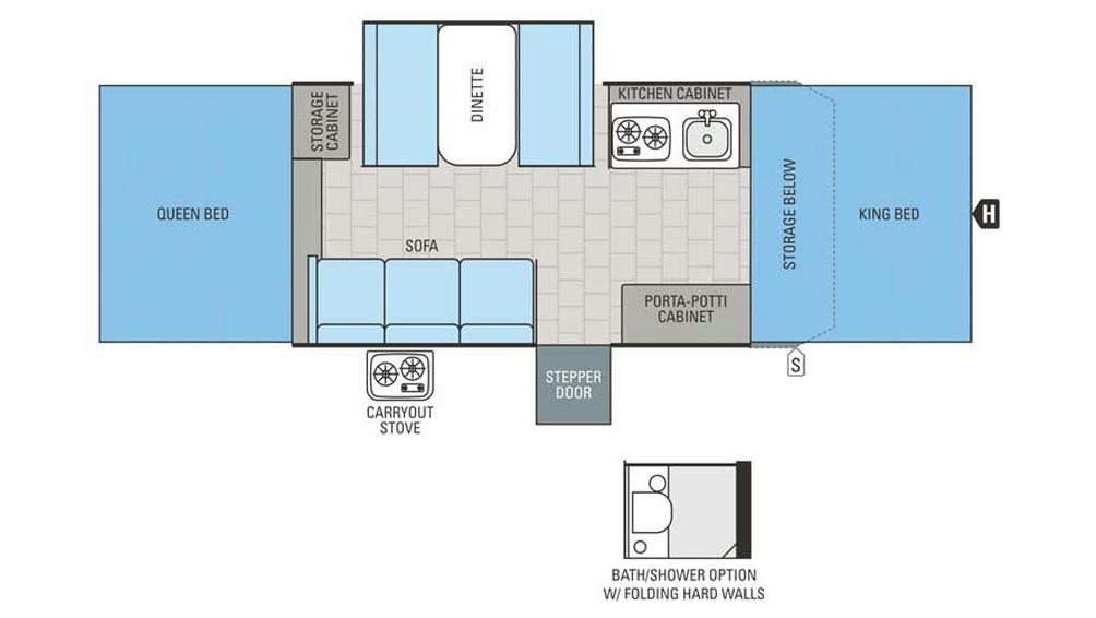 2016 Jay Series 1209SC Floor Plan