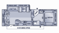 2005 Eagle 281RLS Floor Plan