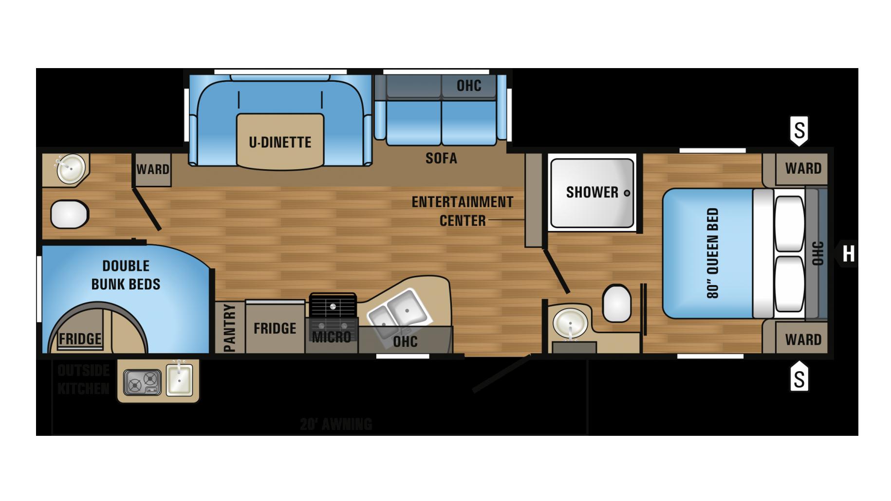 100 jayco rv floor plans coachmen travel trailer for Floor plans jayco travel trailers