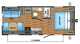 2018 Jay Flight SLX 212QB Floor Plan