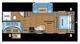 2018 Jay Flight SLX 242BHS Floor Plan