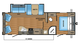 2018 Jay Flight SLX 265RLS Floor Plan