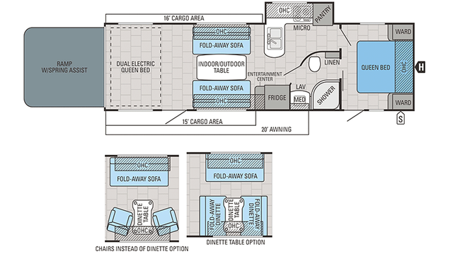 2018 Octane T30F Floor Plan