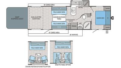 2018 Octane T30F Floor Plan