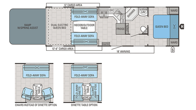 2018 Octane T31B Floor Plan