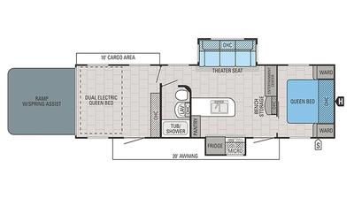 2018 Octane T32C Floor Plan