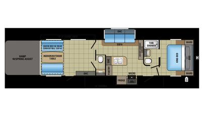 2018 Octane T32G Floor Plan