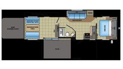 2018 Octane T32H Floor Plan